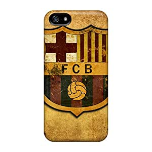 Iphone 5/5s RzU1788kXMo Provide Private Custom High Resolution Fc Barcelona Image Excellent Cell-phone Hard Covers -ErleneRobinson