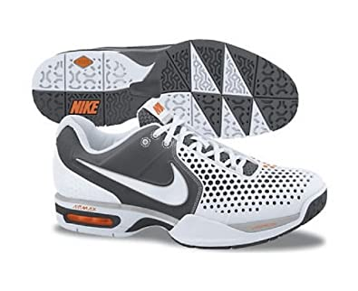 pretty nice 7c743 d09b2 NIKE Air Max Courtballistec 3.3 Mens Tennis Shoes, WhiteGrey, UK7  Amazon.co.uk Shoes  Bags