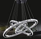 Chandeliers Ceiling Lights Tenlion Crystal Chandelier Padent Lamp Celling Light 30cm*50cm*70cm Neutral White