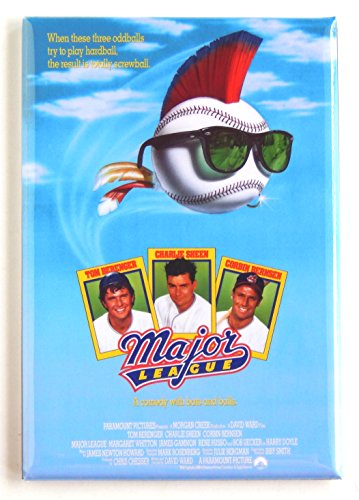 - Major League Movie Poster Fridge Magnet (2 x 3 inches)