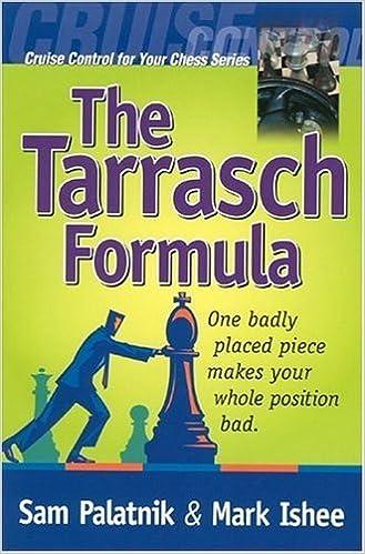 Book The Tarrasch Formula by Sam Palatnik (2004-09-02)