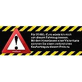 Kaufvertrag 25k Autoverkauf für Fahrerscheibe Aufkleber Autoaufkleber Sticker Vinylaufkleber Decal