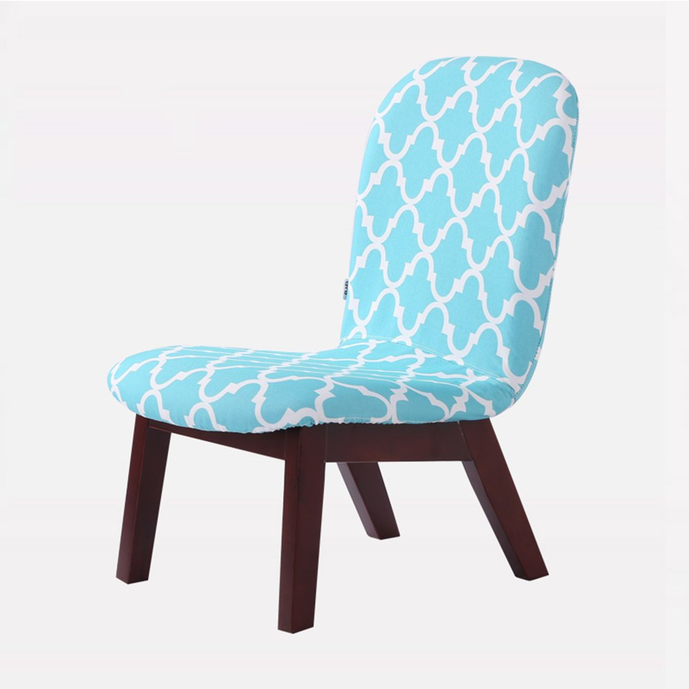 ZEMIN ダイニングチェア椅子の木の木製折り畳み 椅子 ソファー シート スツール 表 ポータブル 背もたれ 木製 固体 木材 柔らかい パッド入り 居心地の良い クリエイティブ 安定 多機能、 6色使用可能、 47.5x64x69.5cm ( 色 : A#1 ) B078RKR911 A#1 A#1