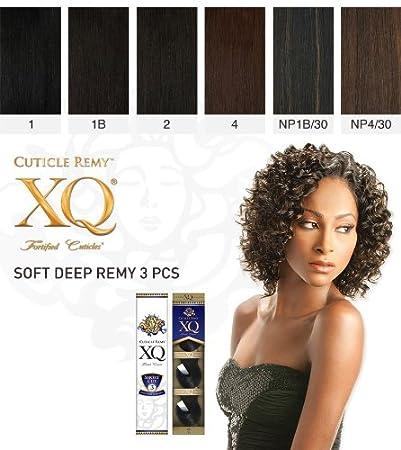 Amazon cuticle remy xq human hair weave soft deep remy 3 cuticle remy xq human hair weave soft deep remy 3 pcs om230 pmusecretfo Gallery