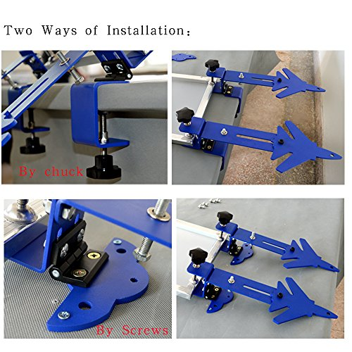 Destop Simple Screen Printing(pair) machine Tool for Screen Printing