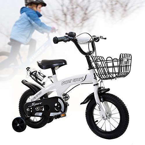 AQJSAJC Niños en Bicicleta Niños niñas años con Ruedas de ...