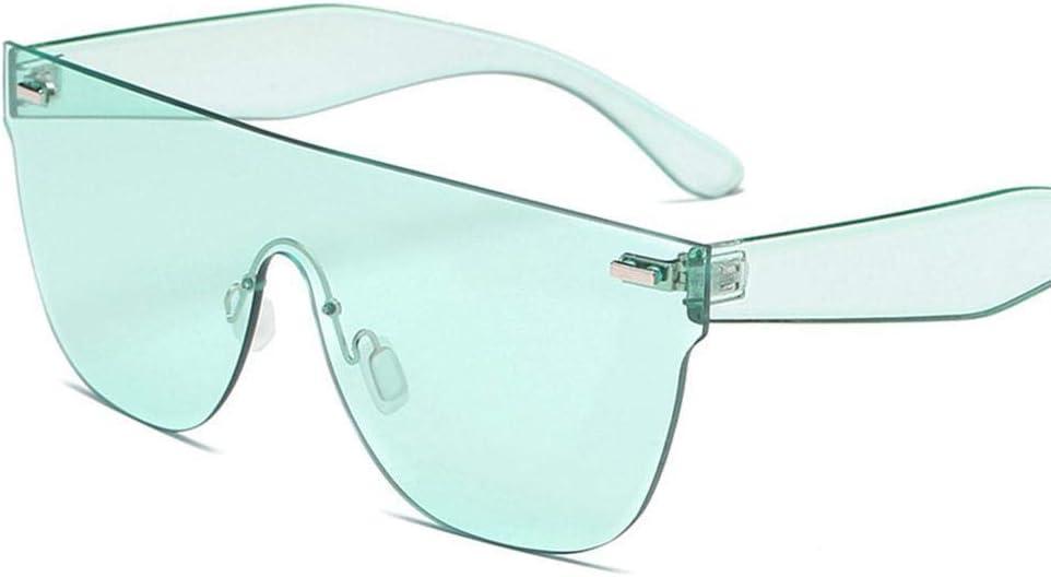 Gafas De Sol Gafas De Sol De Color Caramelo Mujeres Gafas De Sol Cuadradas Azules Claras Damas Hombres Gafas De Conducción Remache Gafas De Sol