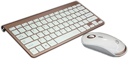 OUKB Ultra-Delgado Mini Laptop Juego de Teclado y Mouse ...