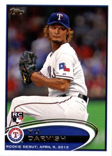 2012 Topps Update Series Baseball Card # US168 Yu Darvish...