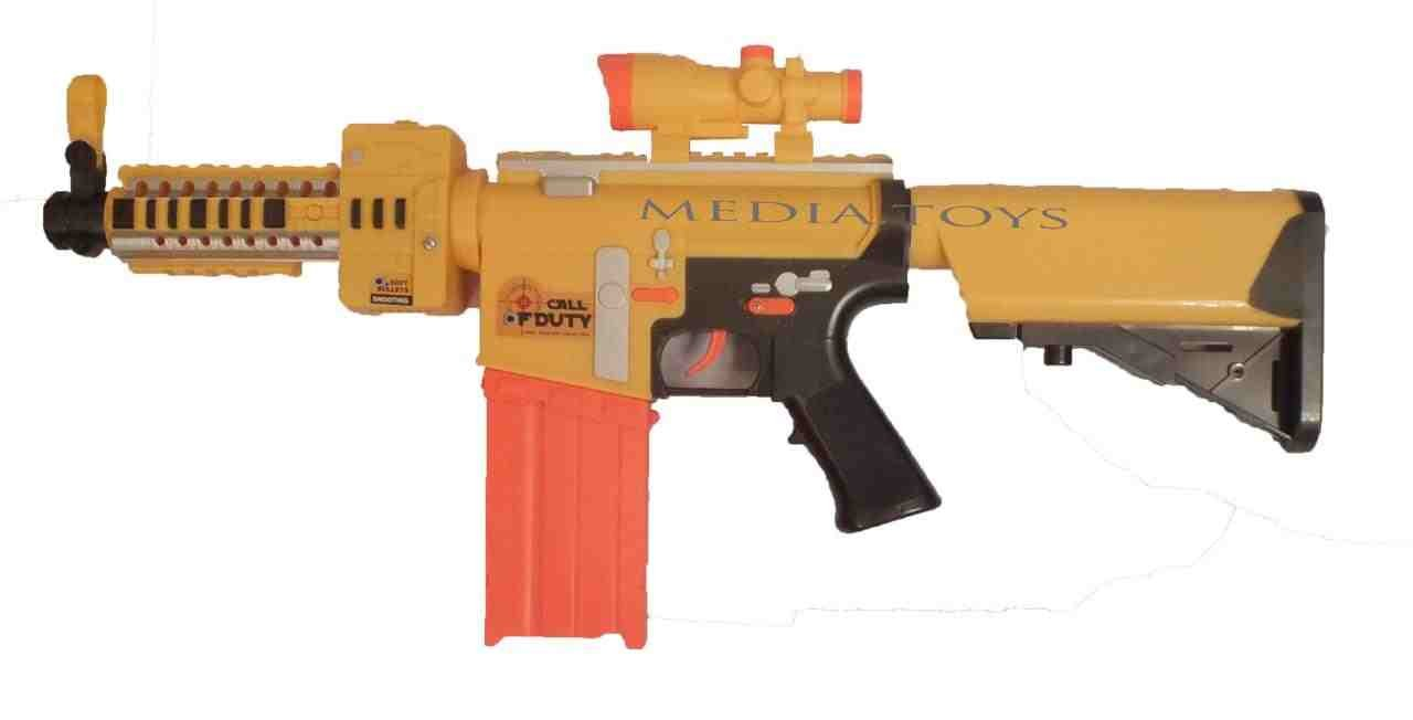 You could go duck hunting with this nerf gun
