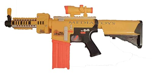 Call Of Duty Semi-Auto Soft Bullet electric Gun, Nerf Style 6+