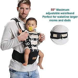 Amazon Com Lanova Ergonomic Baby Carrier Backpack With