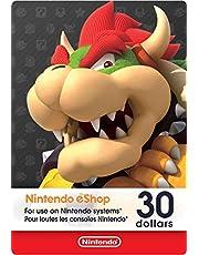 $30 Nintendo eShop Gift Card [Digital Code]