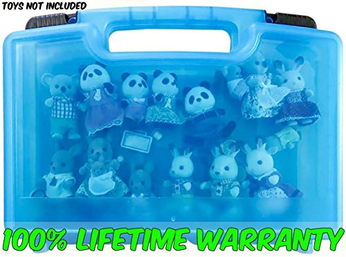 Life Made Better Toy Storage Organizer. Fits Up To 30 Mini Figures. Compatible With Calico Critters TM And Accessories