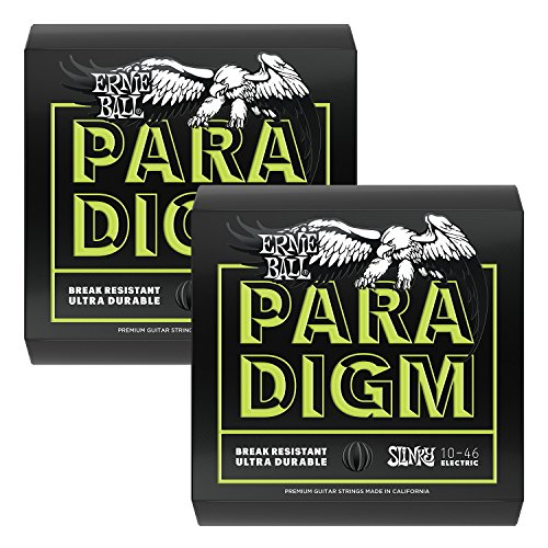 Ernie Ball 2021 Paradigm Electric Guitar String, Regular Slinky 2 pack