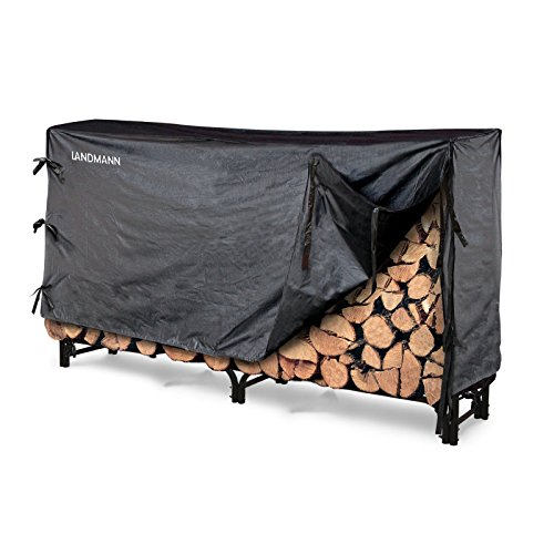 Landmann 8 ft. Firewood Rack with Cover