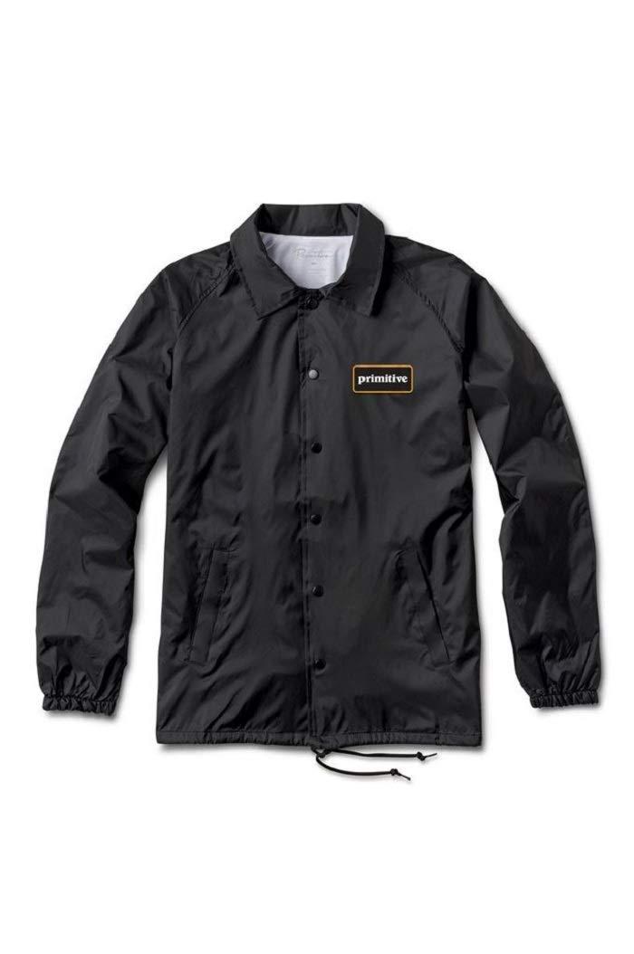 Primitive GFL Coach Black Screenprinted Windbreaker Men's Jacket (Small)