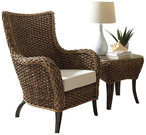 Panama Jack Sunrooms 2 PCPJS-1001-CET Sanibel 2 Piece Lounge Chair Set with Cushions, Sunbrella Canvas Jockey Red