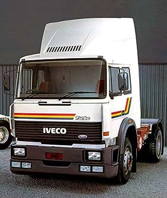 Amazon.com: 1987 Iveco Tec Tractors Truck Photo Poster: Entertainment