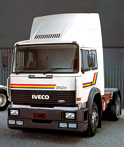 Iveco the best amazon price in savemoney 1987 iveco tec tractors truck photo poster fandeluxe Choice Image