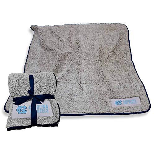 (LOGO North Carolina Tar Heels NCAA Frosty Fleece 60 X 50 Blanket - Team Color)