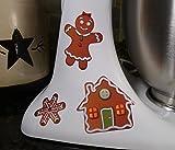 Gingerbread Men Cookie Assortment Christmas Holiday Kitchenaid Decal Kit Mixer Machine Art Wrap