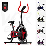 We R Sports Men's C100 Exercise Bike/Indoor Cycle-Red