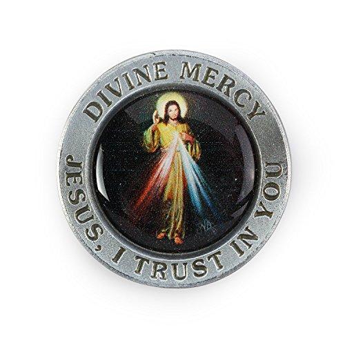 Divine Mercy Pocket Religious Token
