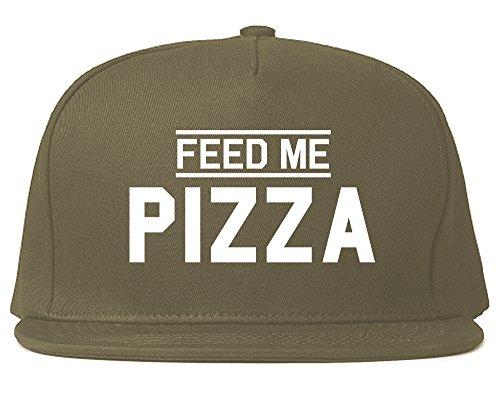 Feed Me Pizza Mens Snapback Hat Cap - Snapback Me Feed