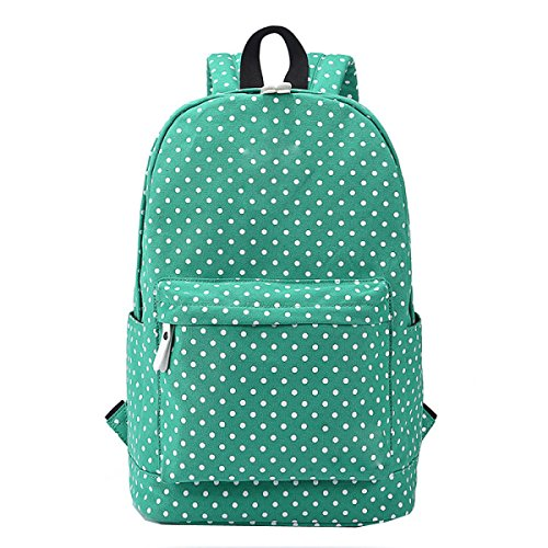 Backpack Laidaye Bag Travel Business Multi Canvas Leisure Shoulder purpose Lady Green gxqZf7z
