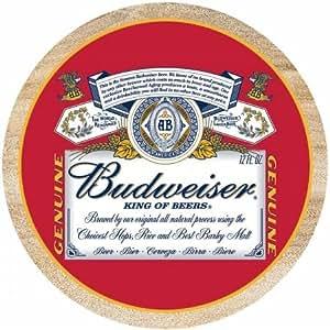 Thirstystone TSAB1 Natural Sandstone Coaster Set Budweiser