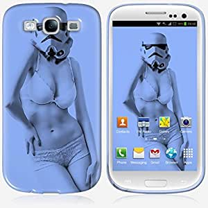 Galaxy S3 case - Skinkin - Original Design : Stormtrooper blue by
