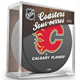 Sher-Wood Hockey NHL Calgary Flames Official Coaster