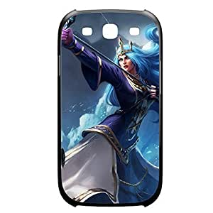 Ashe-002 League of Legends LoL case cover for Samsung Galaxy S3, I9003 - Plastic Black