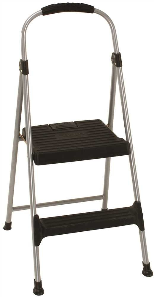 Brilliant Cosco 11310Pbl4 Signature Series Two Step Steel Step Stool With Plastic Steps Caraccident5 Cool Chair Designs And Ideas Caraccident5Info