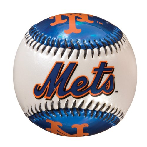 Franklin Sports MLB New York Mets Team Softstrike Baseball (Ball Mets York New)