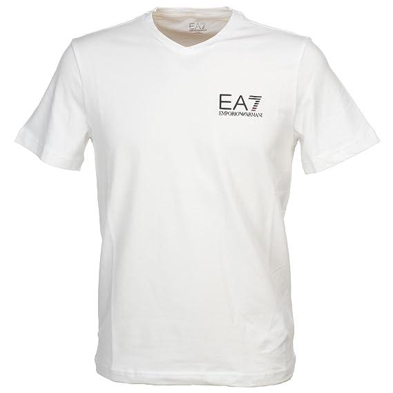 a92f8a1b8df4 Emporio Armani EA7 Train Core ID Logo V-Neck T-Shirt