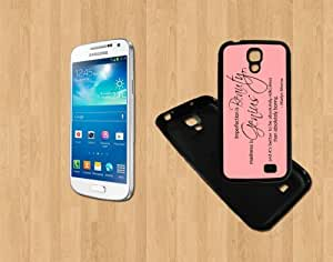 Marilyn Monroe quotes imperfection Custom Case/Cover FOR Samsung Galaxy S4-BLACK-Rubber Soft Case- ( Ship From CA )