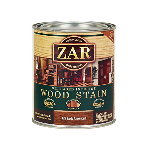 ZAR 12812 Wood Stain, Early American, QT,