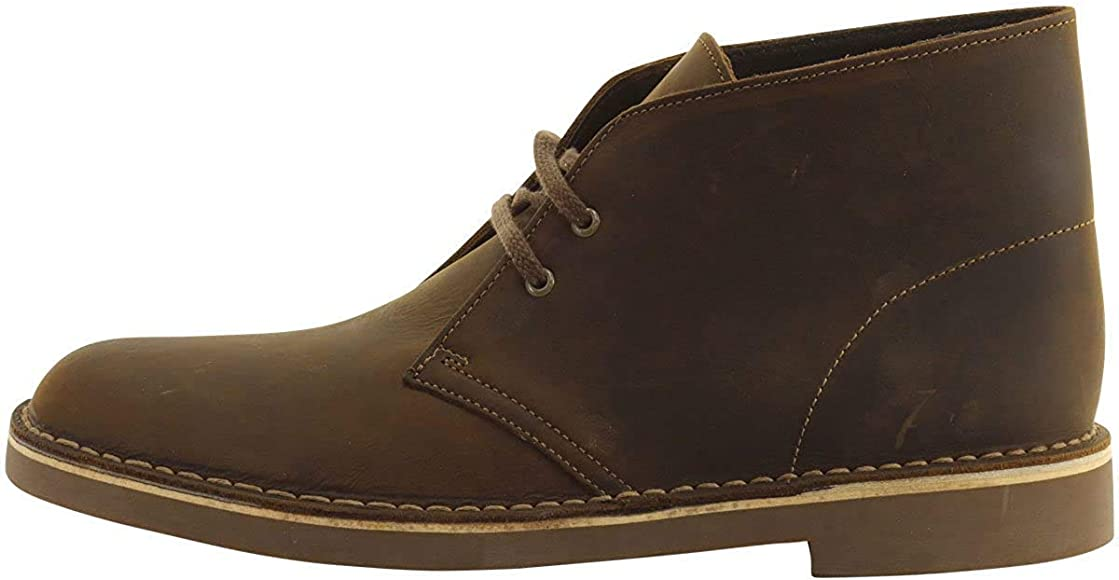 Clarks Men's Bushacre 2 Beeswax Leather