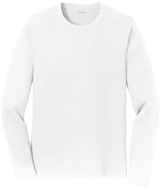 31e3321e006 Image Unavailable. Image not available for. Color  Joe s USA(tm) Mens Long  Sleeve 4.5oz Lightweight Soft Cotton T-Shirt