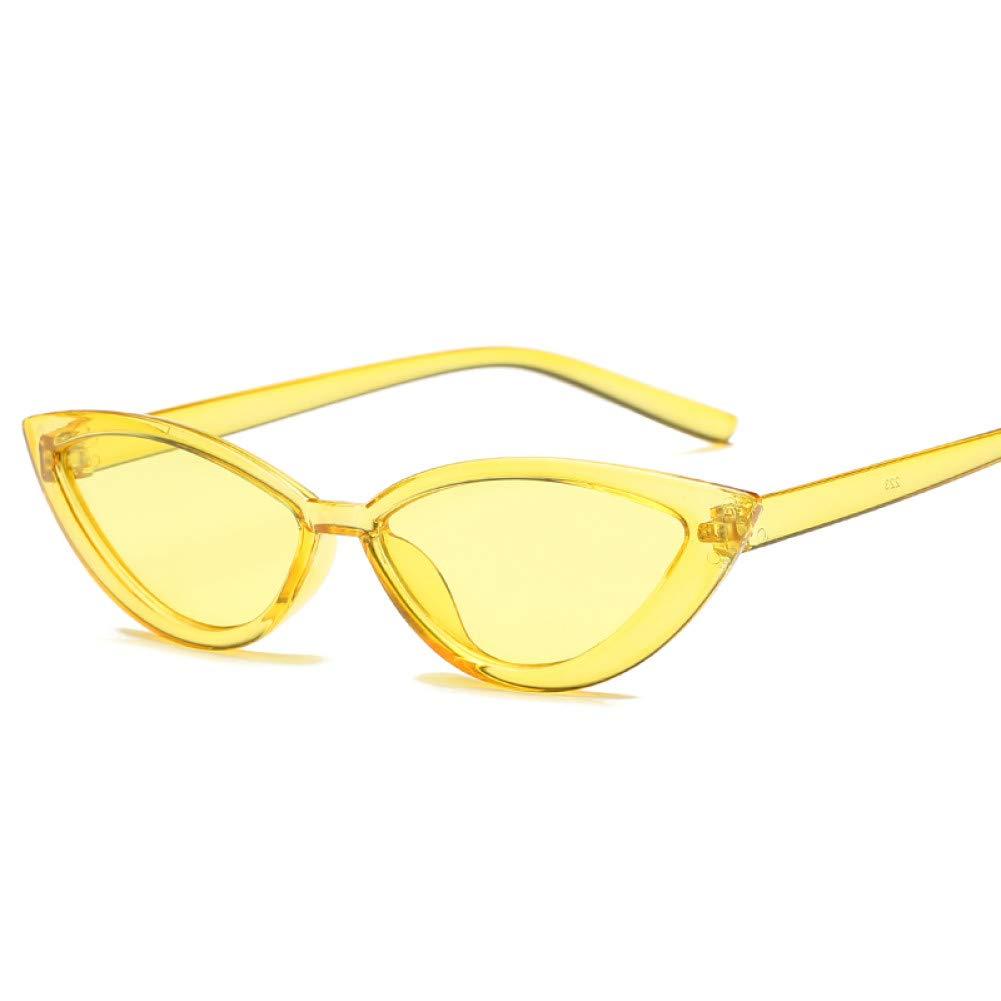 YSFU Gafas de sol Cat Eye Lady Gafas De Sol Moda para Mujer ...