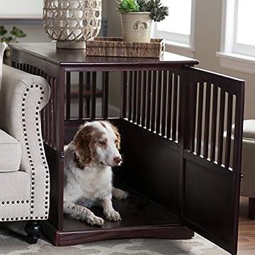 designer dog crate furniture ruffhaus luxury wooden. DenHaus RuffHaus Indoor Wood Dog Crate House End Table Furniture Designer Ruffhaus Luxury Wooden