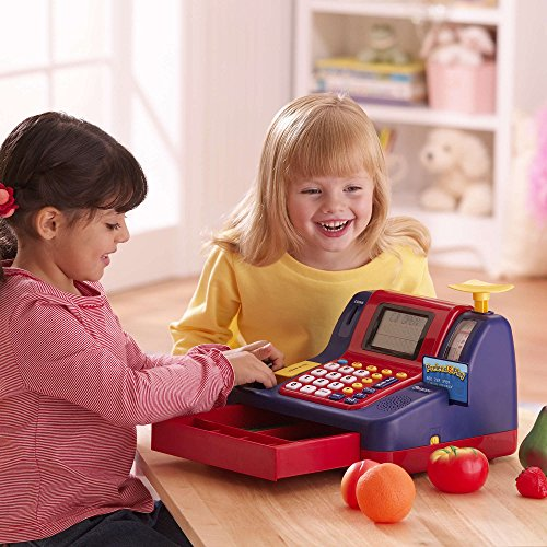 51uh0 1qFgL - Learning Resources Pretend & Play Teaching Cash Register [Standard Packaging]
