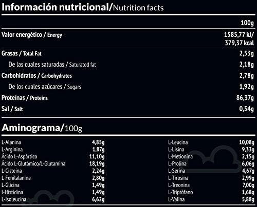 PALEOBULL Panacea Aislado de proteina Chocolate 350gr, Negro, Estándar