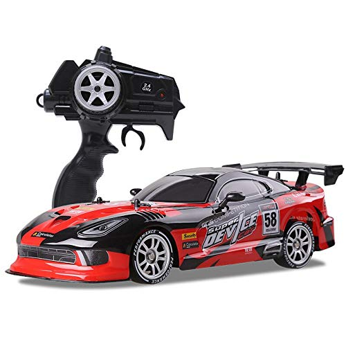 Rc Car for GTR/Dodge Viper 4wd Drift Racing Championship 2.4g Off Road Rockster Remote Control Vehicle Electronic Hobby Toys Red