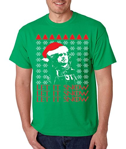 Let It Snow Ugly Christmas Sweater Jon Snow