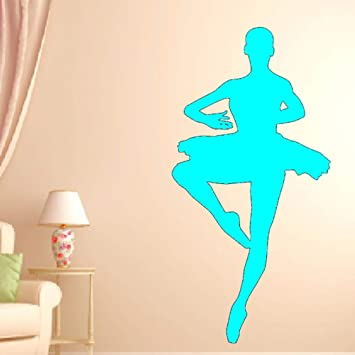 Ajcwhml Ballerina Wall Decal Dormitorio Dance Wall Sticker para ...