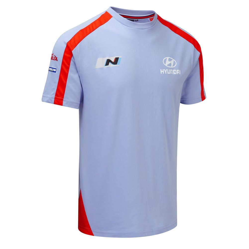 NOW WITH 15% OFF: Hyundai Mens Team T-Shirt WRC Motorsport Cars All Sizes