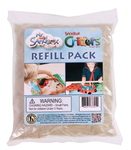 Be Good Company Natural Sand (Refill Pack) (Kids Play Sand)